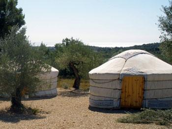 a-yurt